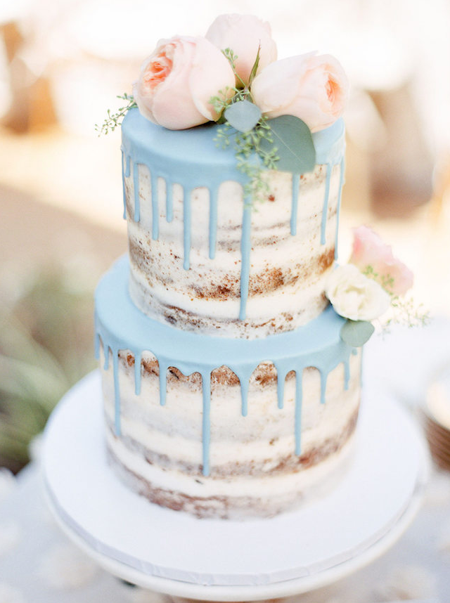 wedding naked cake